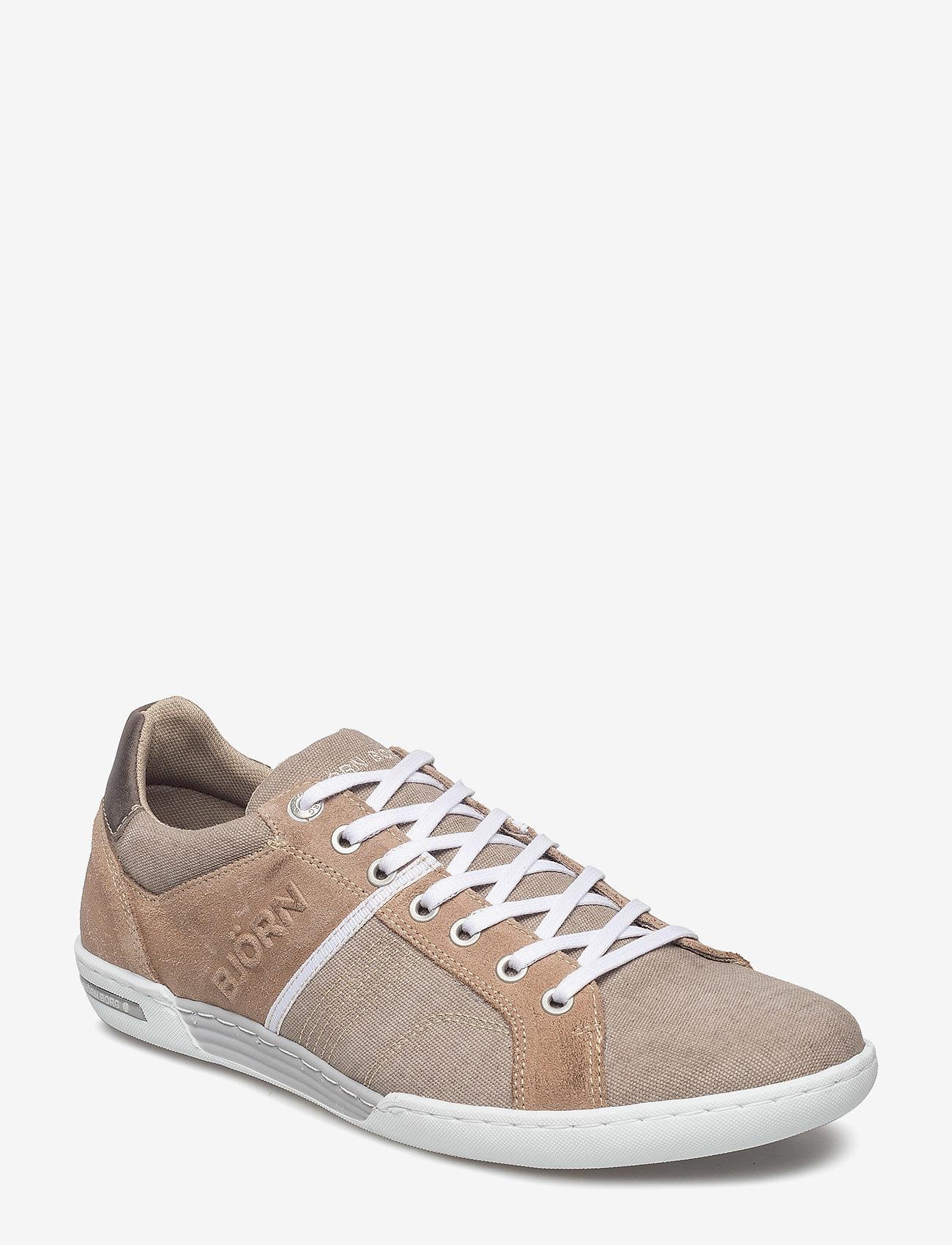 Björn Borg - Coltrane Cvs - laag sneakers - sand-dk grey - 0