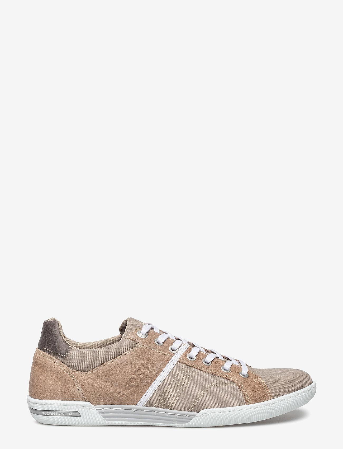 Björn Borg - Coltrane Cvs - laag sneakers - sand-dk grey - 1
