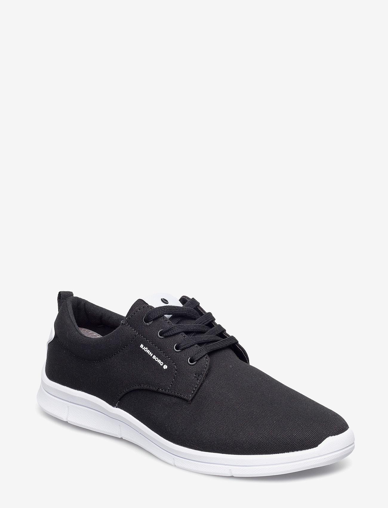 Björn Borg - X200 Low Cvs M - laag sneakers - black - 0