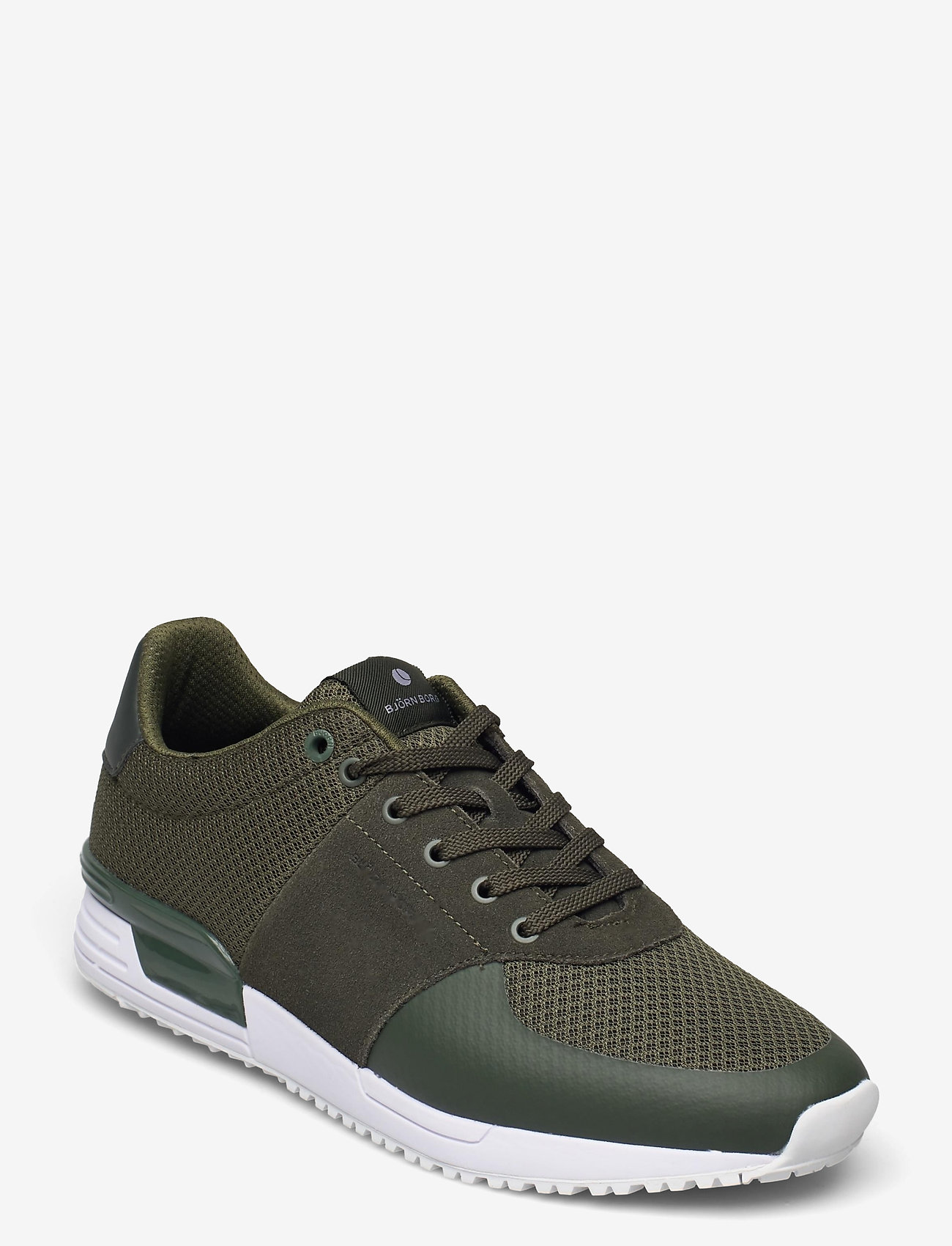 Björn Borg - R100 LOW MSH M - laag sneakers - olive - 0