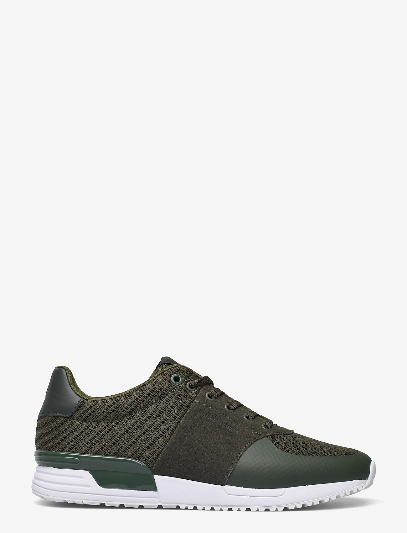 Björn Borg - R100 LOW MSH M - laag sneakers - olive - 1
