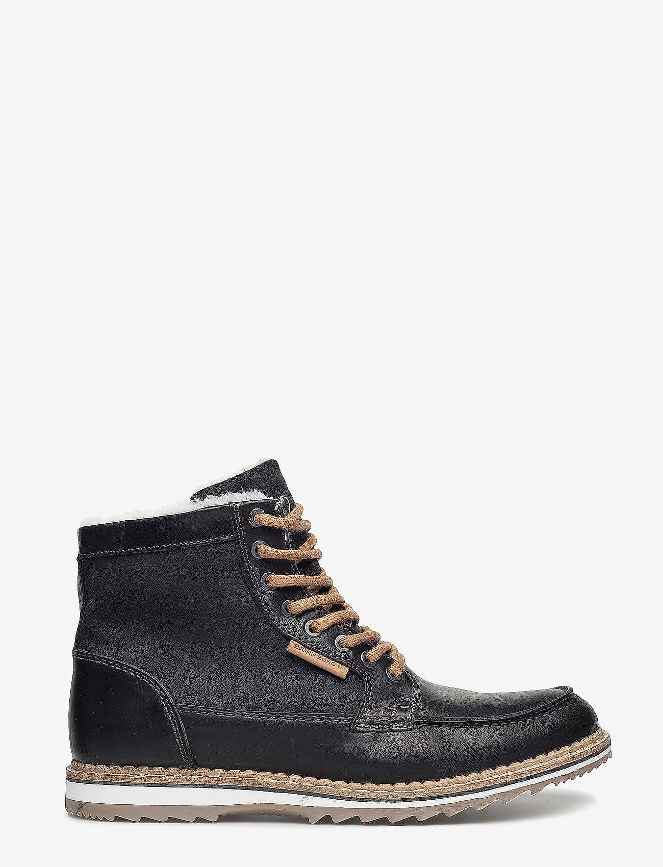 Björn Borg - MARTYN GR MID FUR - winter boots - black - 1