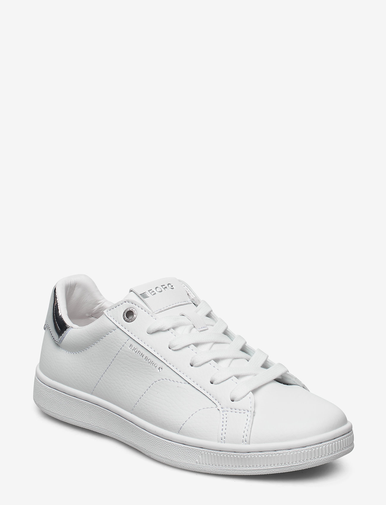 Björn Borg - T305 LOW CLS W - low top sneakers - white-silver - 0
