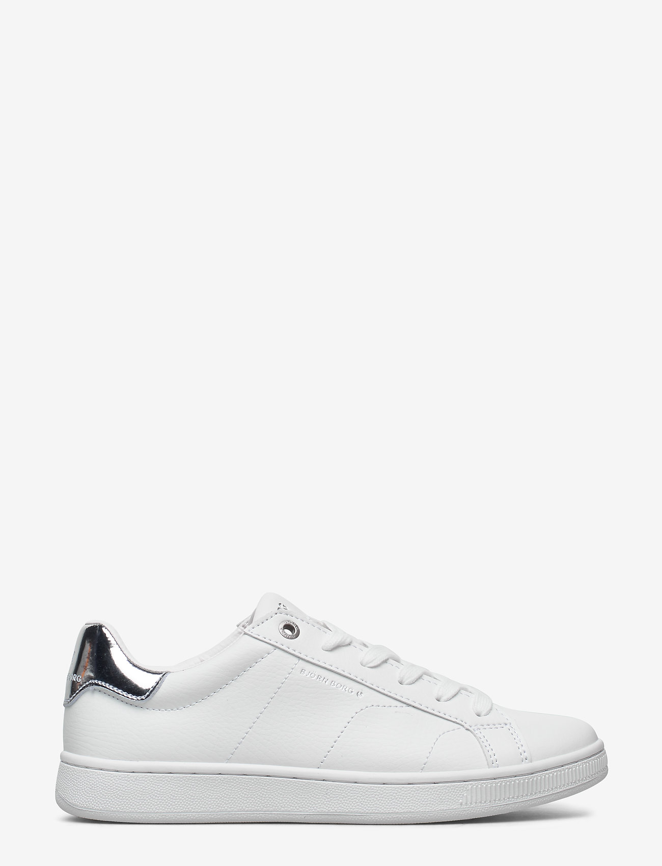 Björn Borg - T305 LOW CLS W - low top sneakers - white-silver - 1