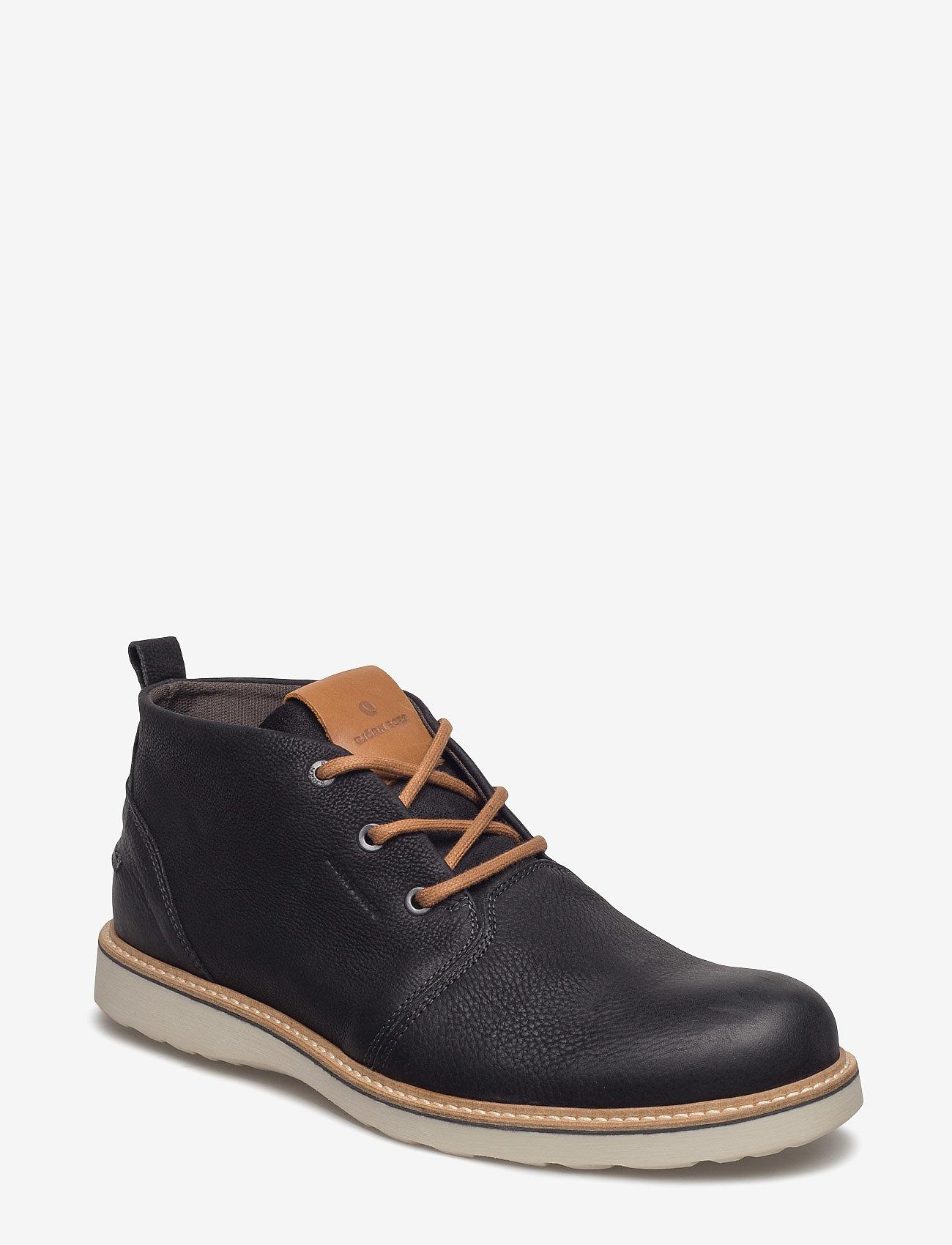 Björn Borg - MILKO 02 MID M - desert boots - black - 0