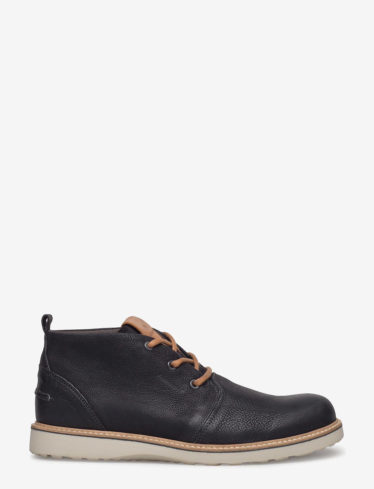 Björn Borg - MILKO 02 MID M - desert boots - black - 1