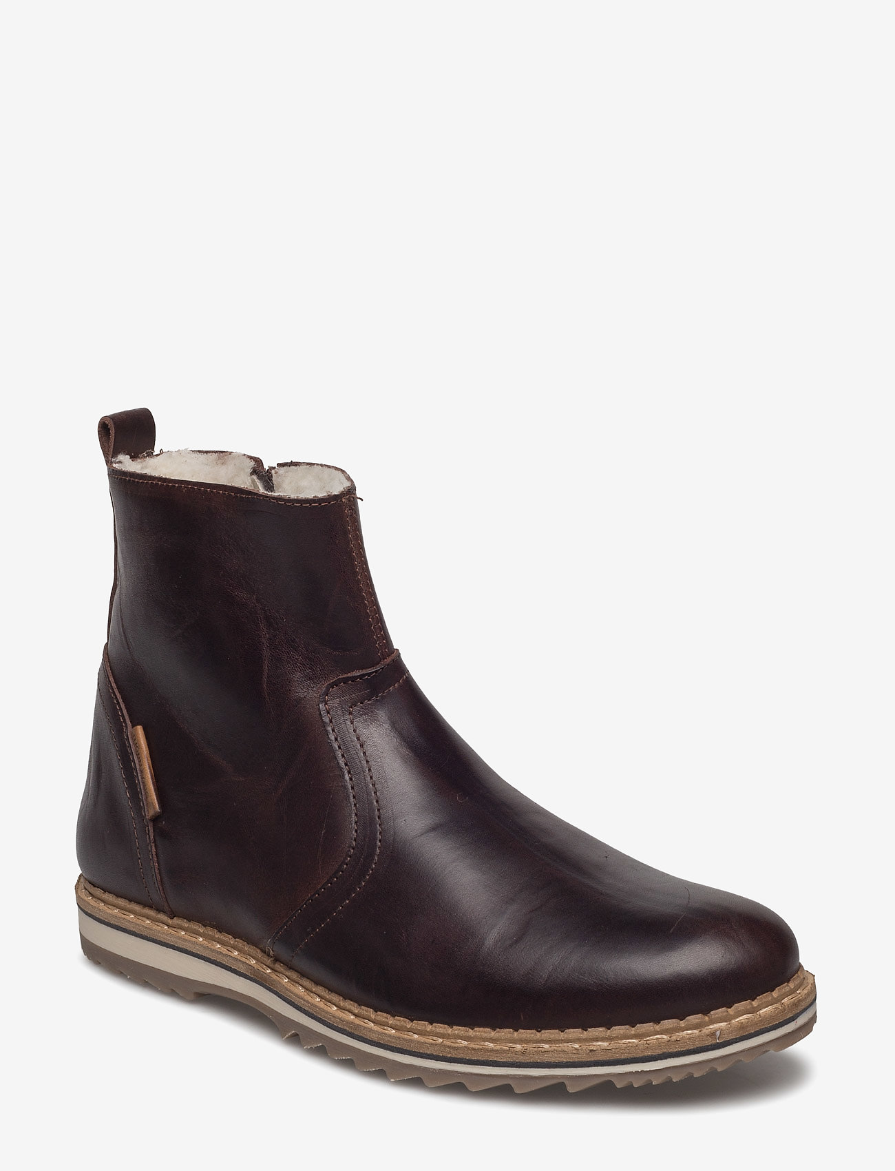 Björn Borg - Myka Z Mid Fur M - winter boots - dark brown - 0