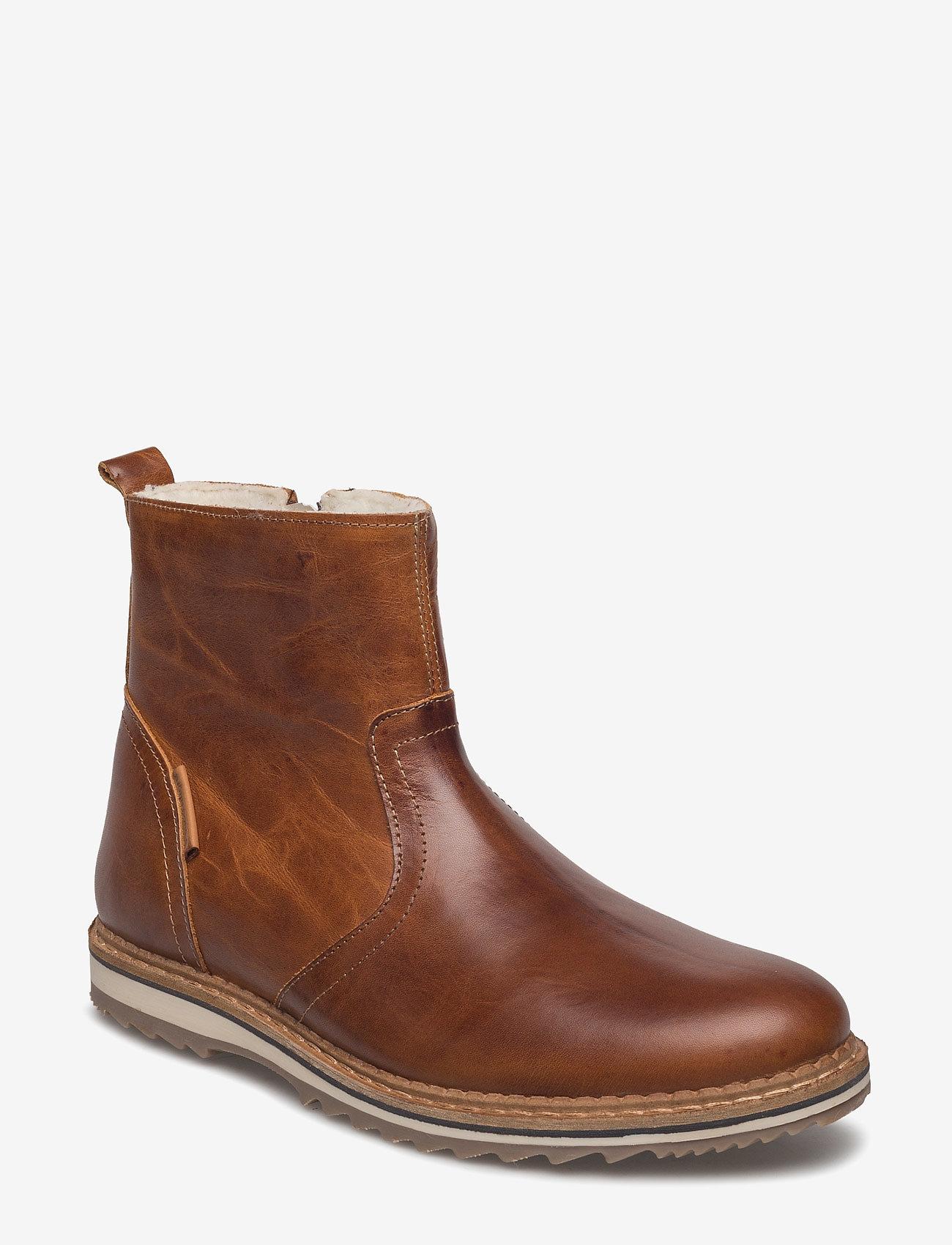 Björn Borg - Myka Z Mid Fur M - winter boots - tan - 0