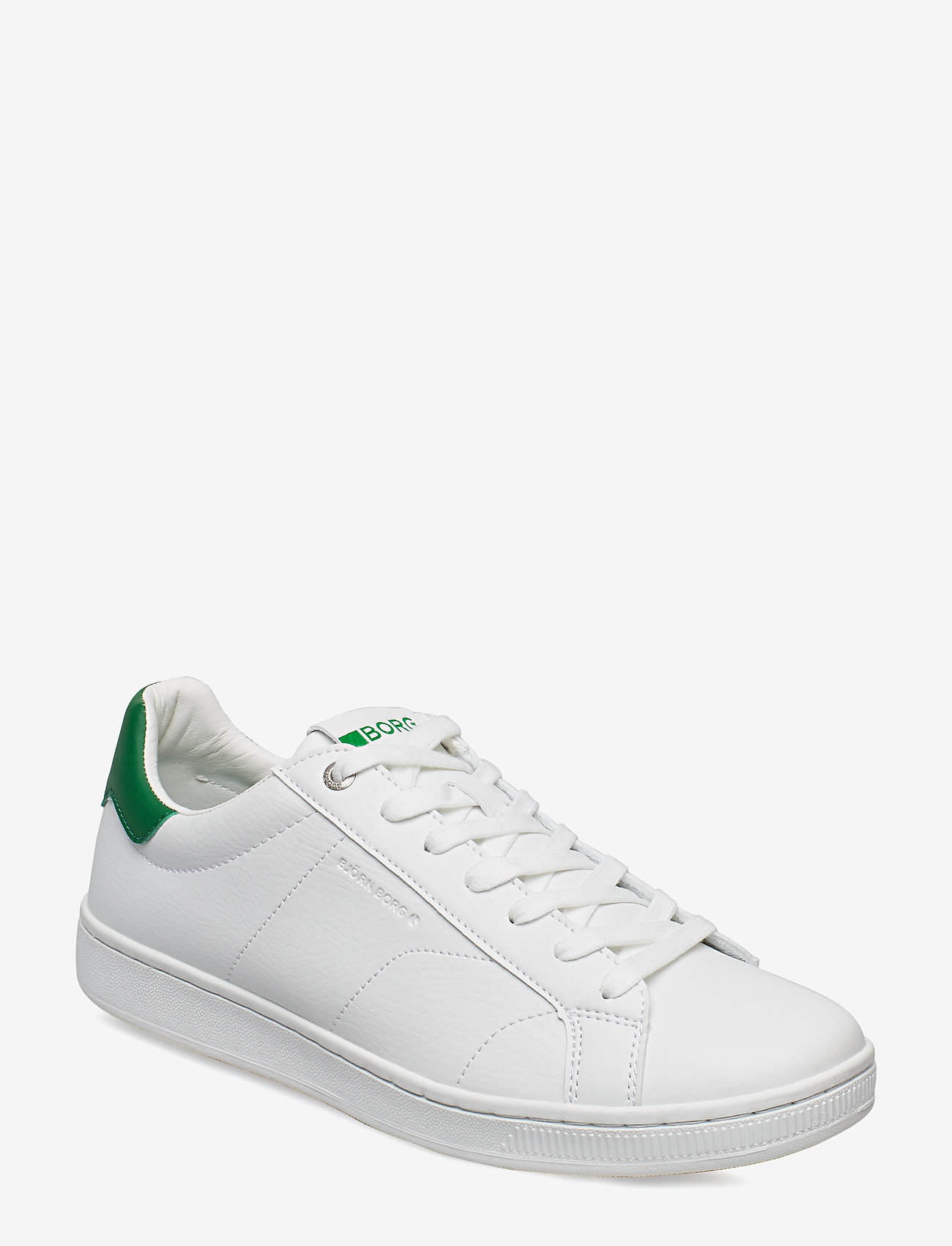 Björn Borg - T305 LOW CLS M - laag sneakers - white-green - 0
