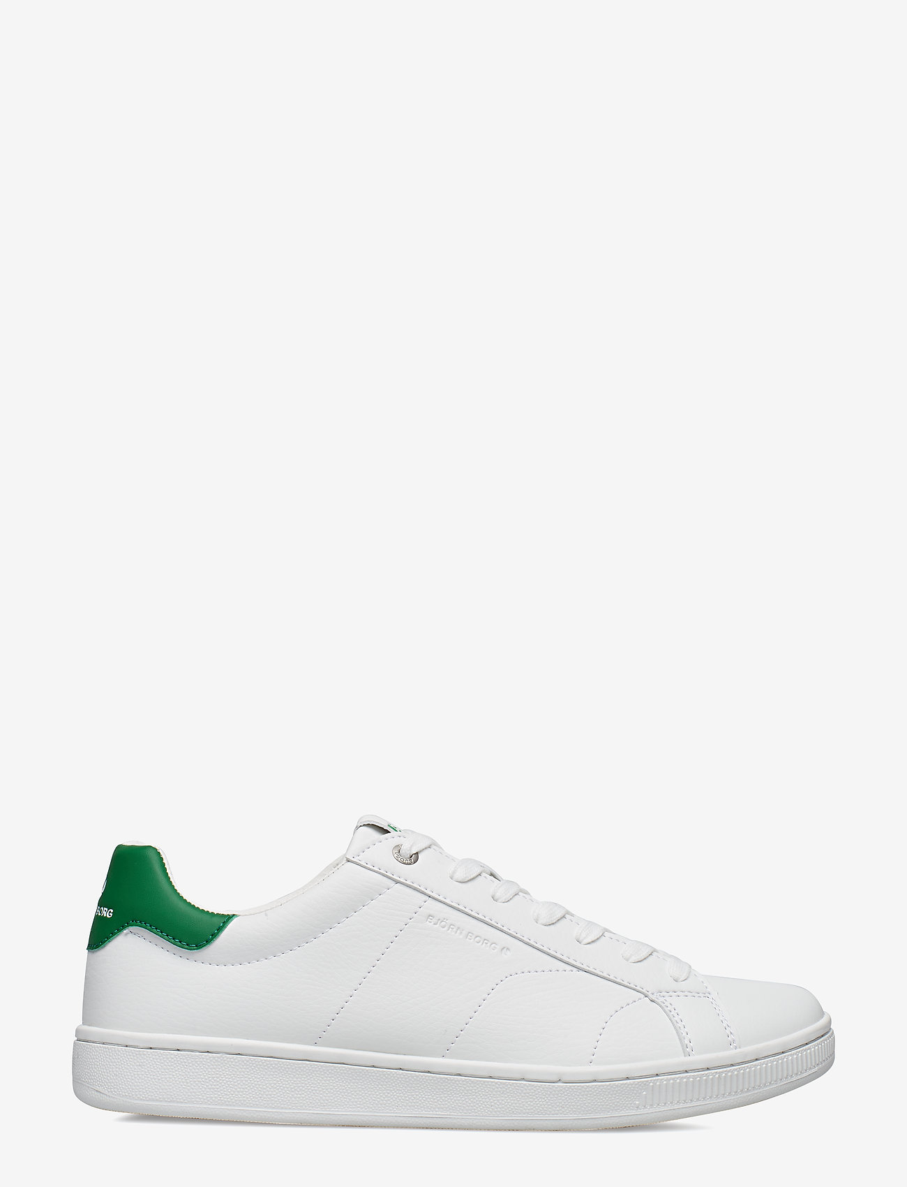 Björn Borg - T305 LOW CLS M - laag sneakers - white-green - 1