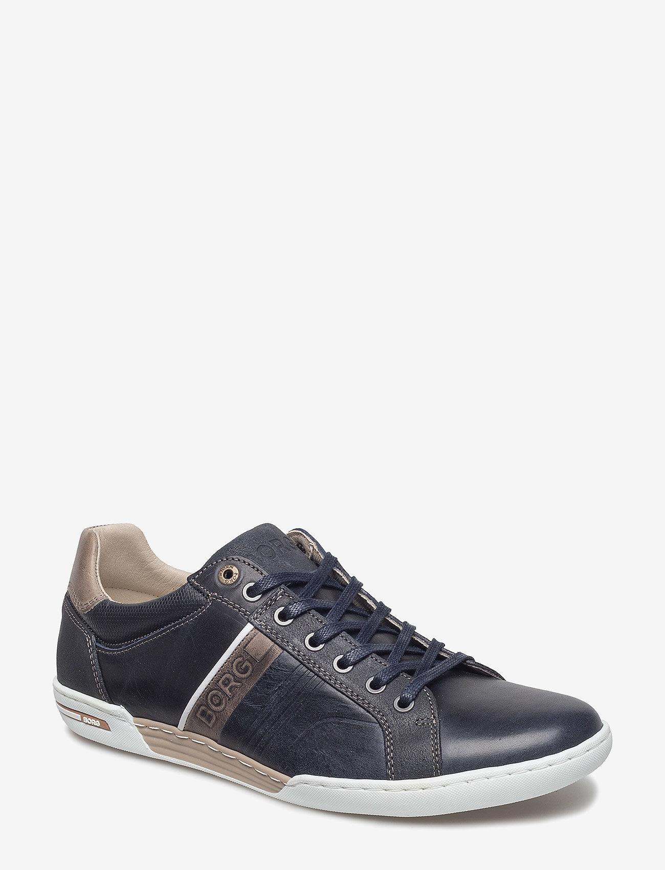 Björn Borg - Coltrane Nu Trm M - laag sneakers - navy/grey - 0