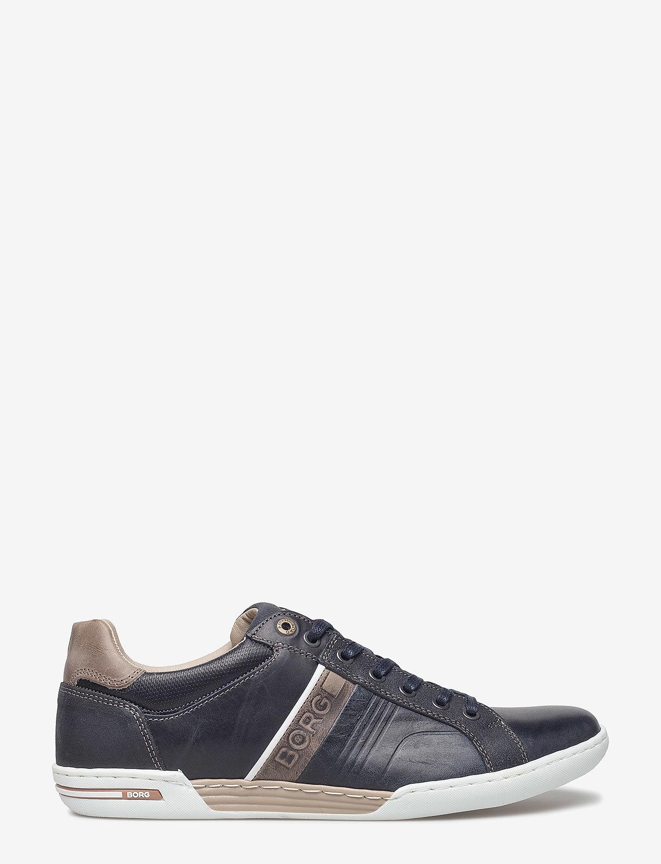 Björn Borg - Coltrane Nu Trm M - laag sneakers - navy/grey - 1