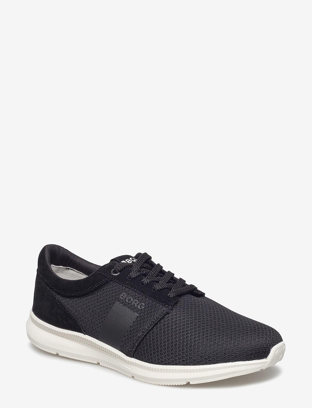 Björn Borg - R500 Low Msh M - laag sneakers - black - 0