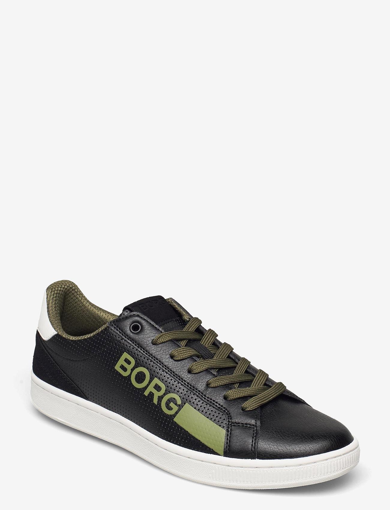 Björn Borg - T330 Low Ctr Prf M - laag sneakers - black-white - 0