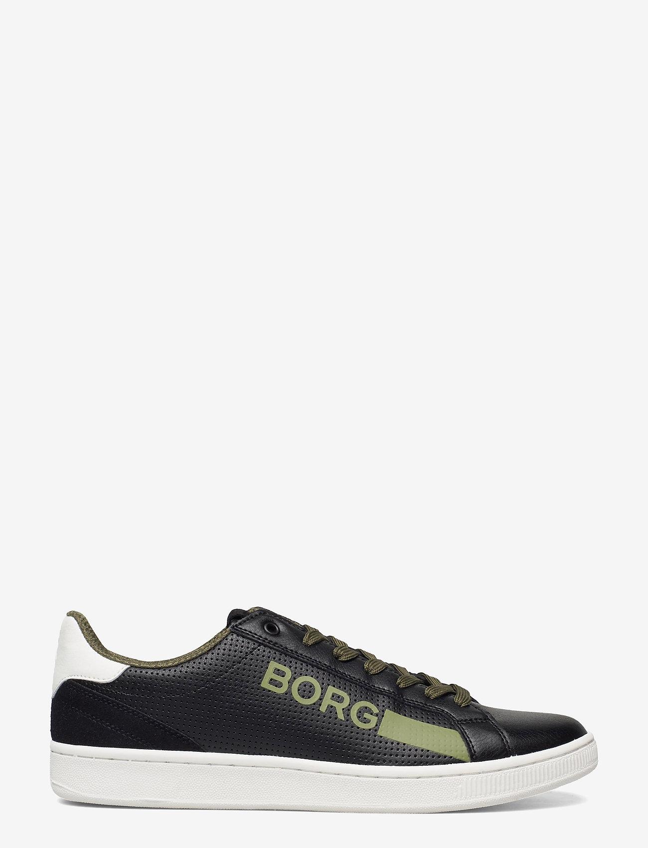 Björn Borg - T330 Low Ctr Prf M - laag sneakers - black-white - 1