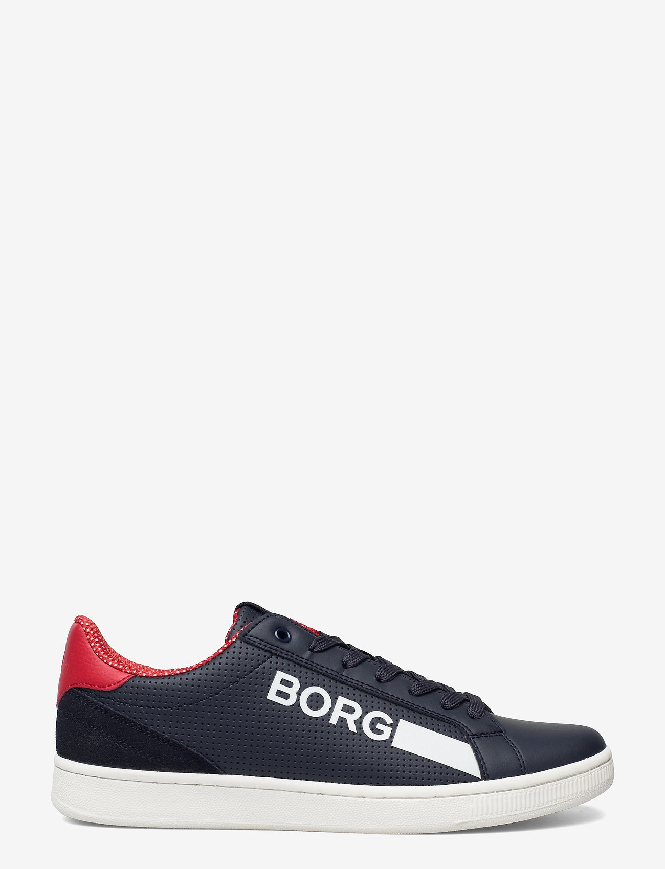 Björn Borg - T330 Low Ctr Prf M - laag sneakers - navy/red - 1