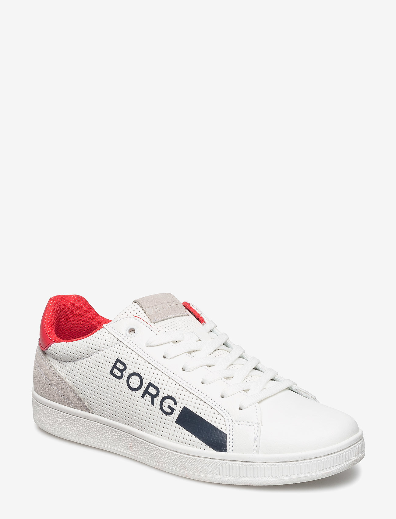 Björn Borg - T330 Low Ctr Prf M - laag sneakers - white/red - 0