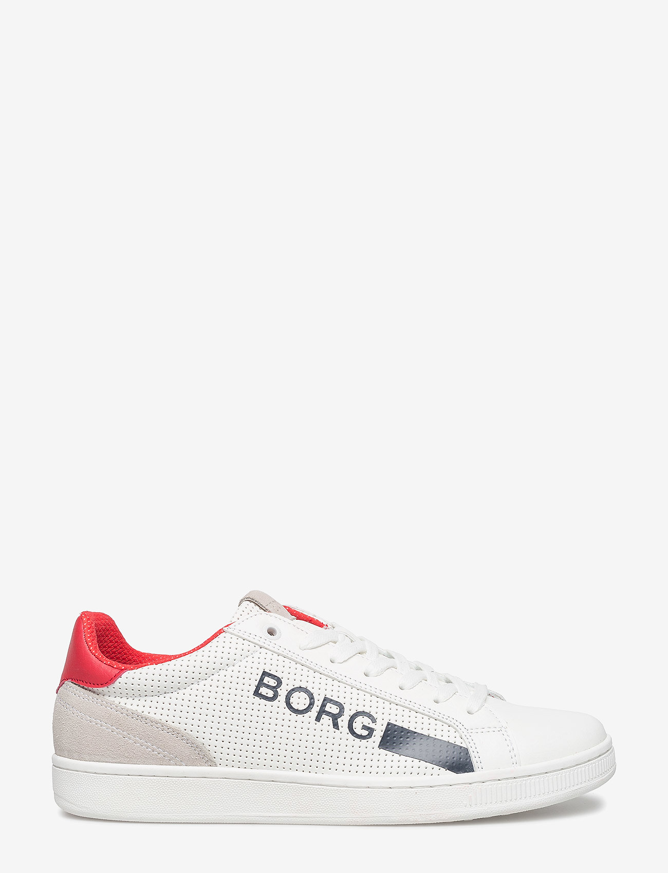 Björn Borg - T330 Low Ctr Prf M - laag sneakers - white/red - 1