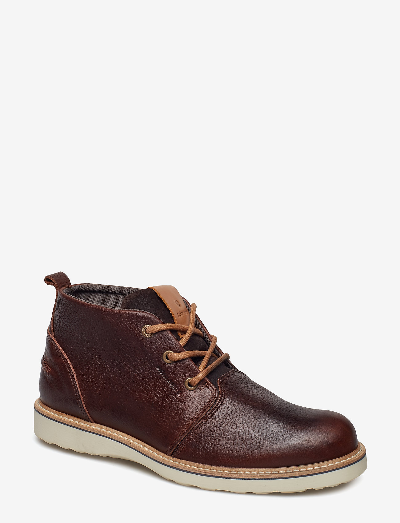 Björn Borg - Milko 02 Mid Tmb M - laced boots - dark brown - 0