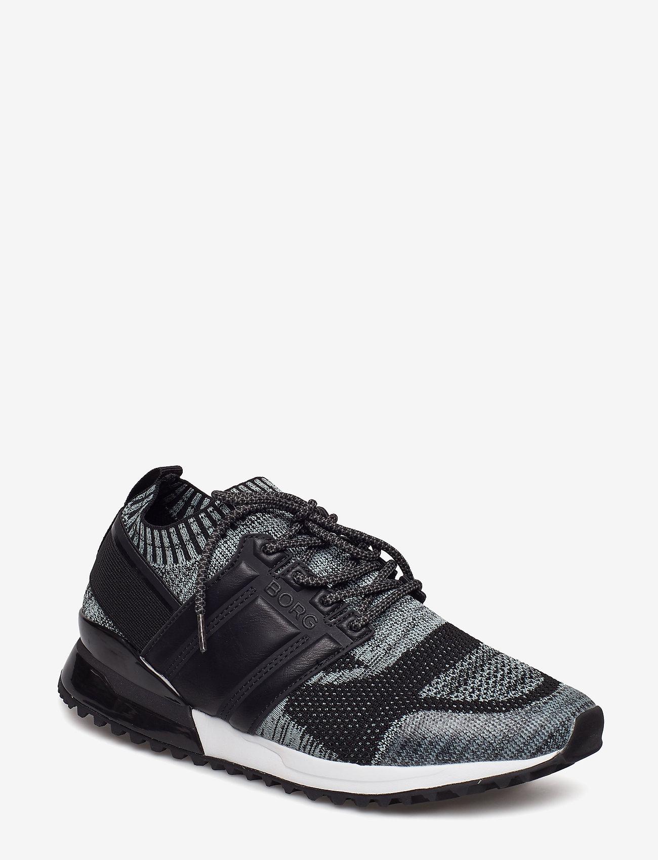 Björn Borg - R200 Low Sck Mlg M - laag sneakers - black - 0