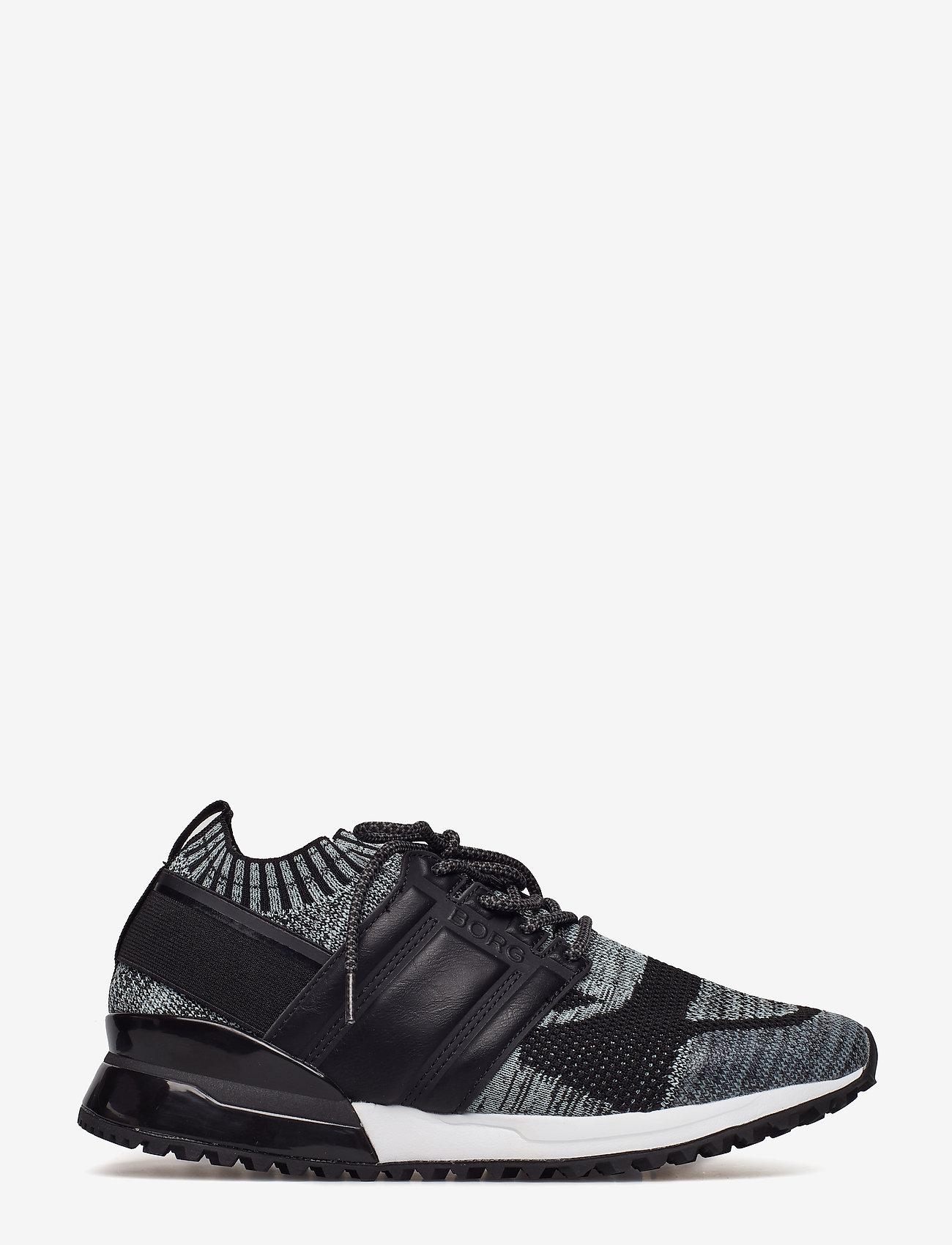 Björn Borg - R200 Low Sck Mlg M - laag sneakers - black - 1