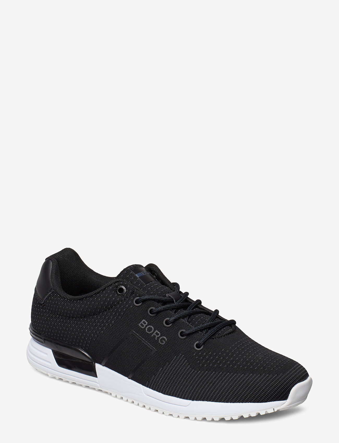 Björn Borg - R107 Low Knt M - laag sneakers - black - 0