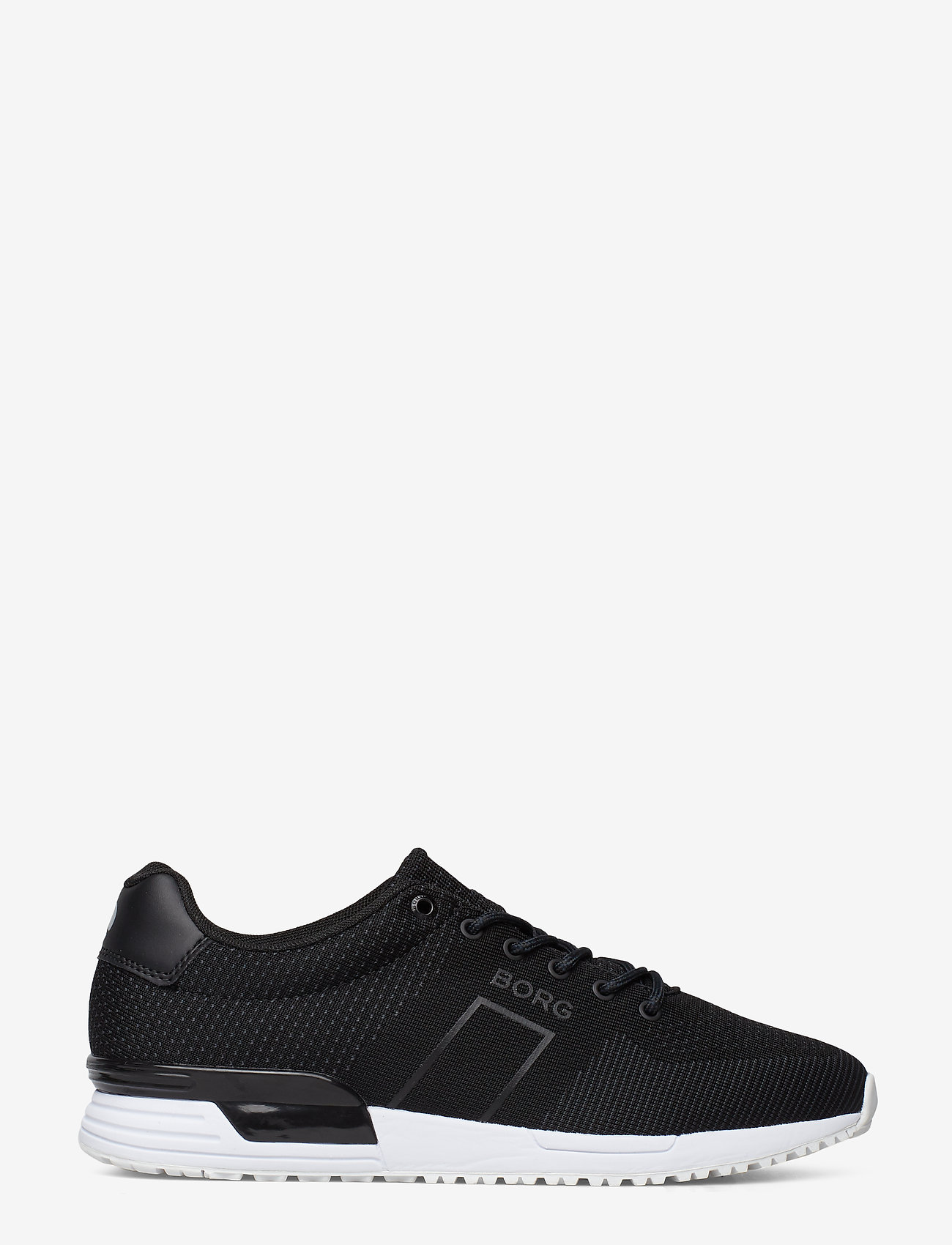 Björn Borg - R107 Low Knt M - laag sneakers - black - 1