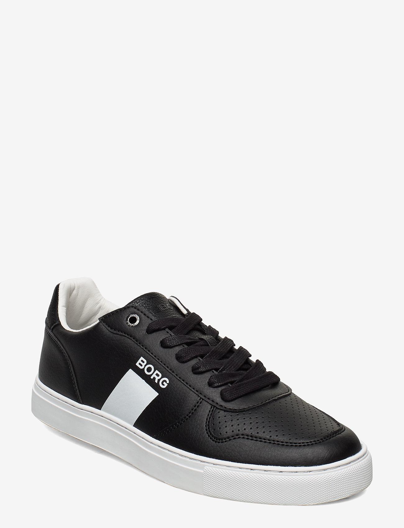 Björn Borg - T220 LOW TMP M - laag sneakers - black-white - 0