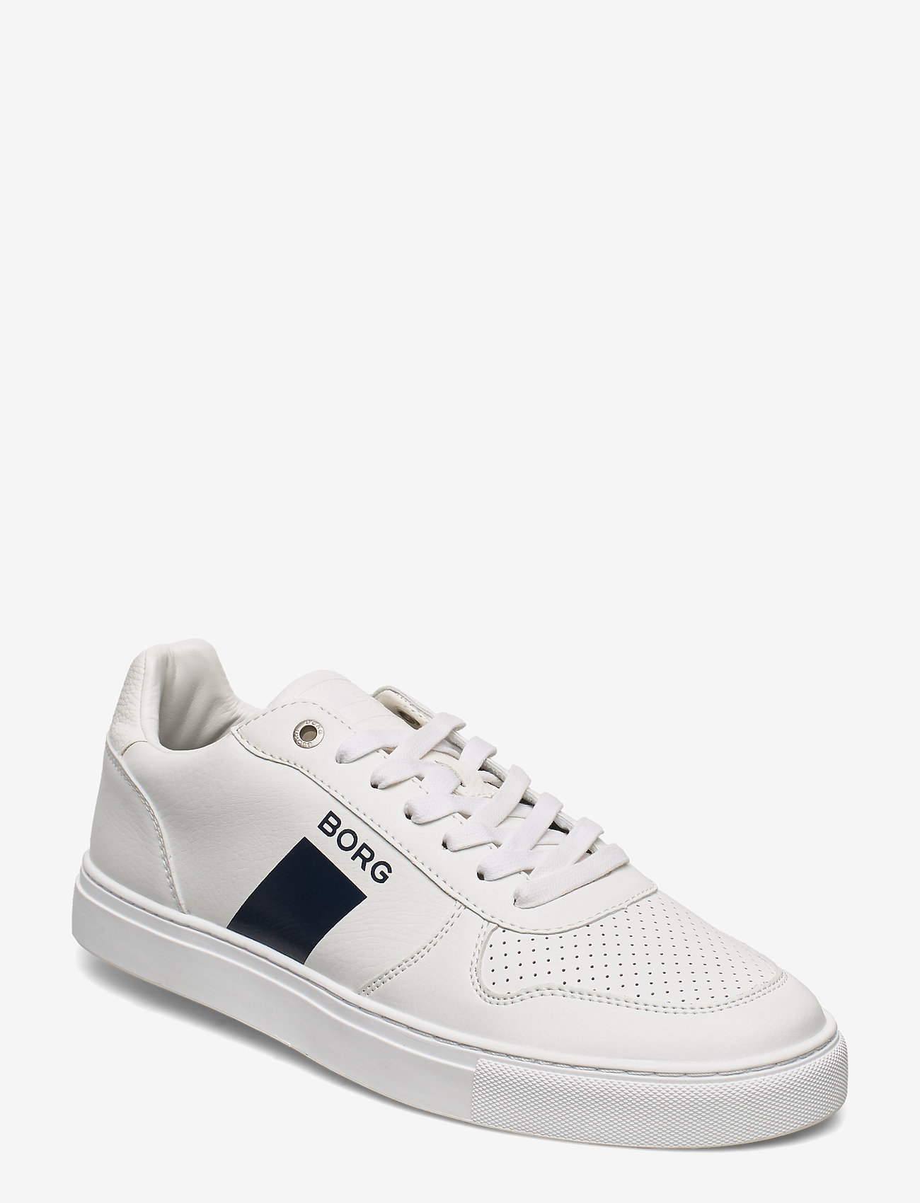 Björn Borg - T220 LOW TMP M - laag sneakers - white-navy - 0
