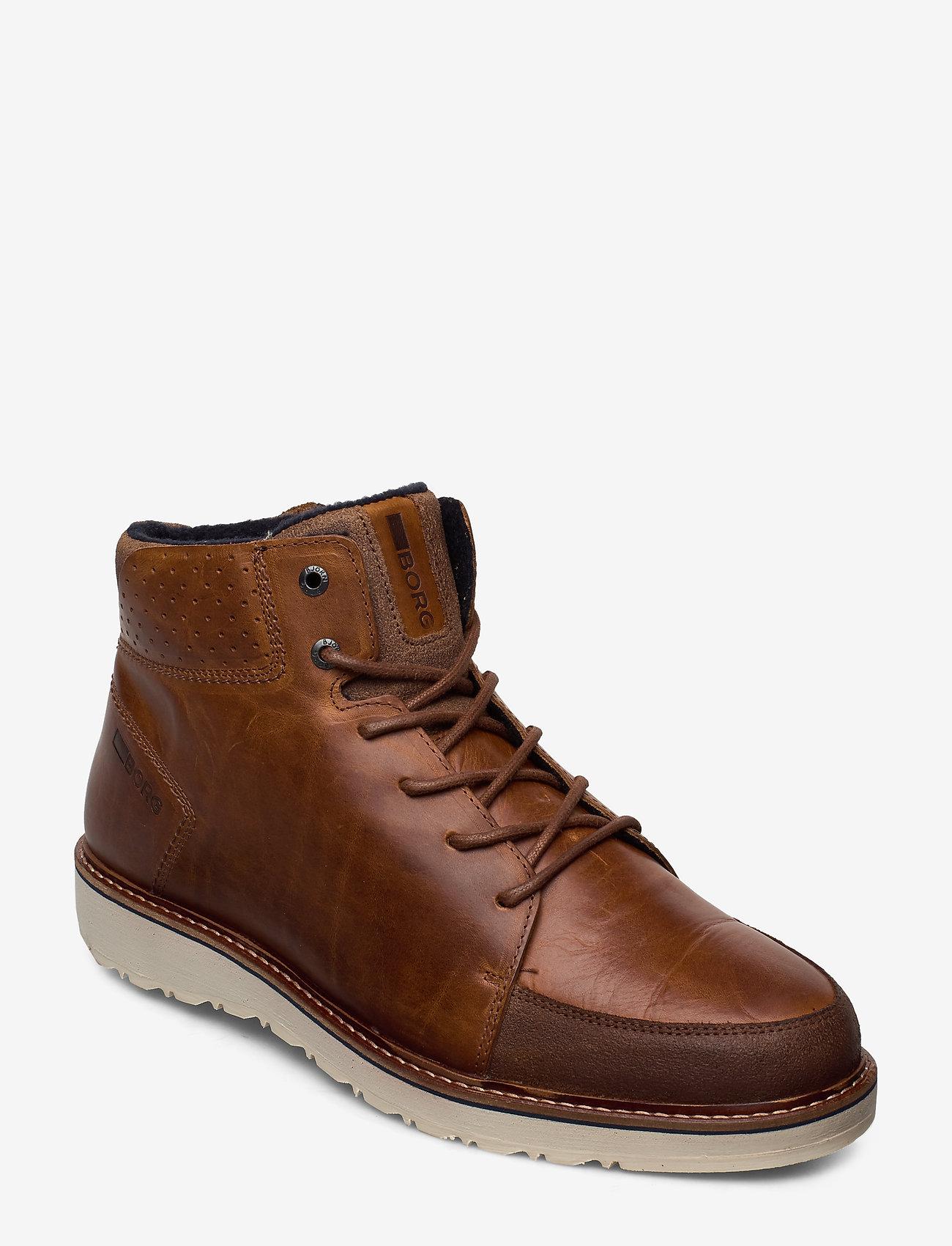 Björn Borg - RUMEN MID M - laced boots - tan - 0