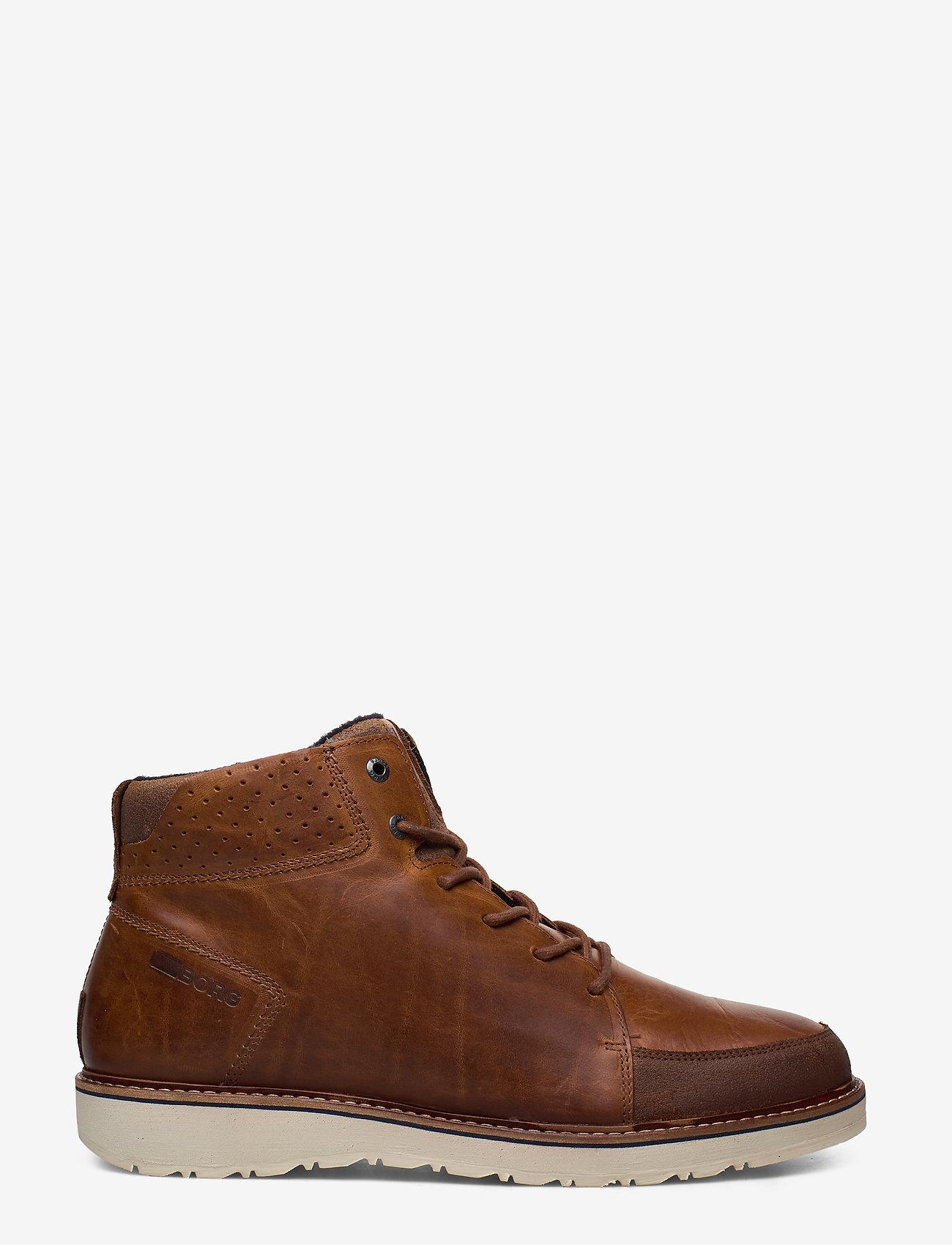 Björn Borg - RUMEN MID M - laced boots - tan - 1