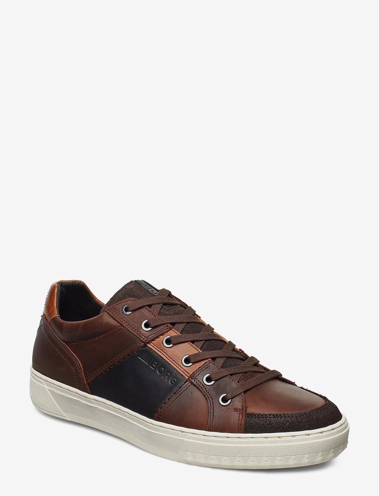 Björn Borg - COLLIN LOW DMT M - laag sneakers - dark brown - 0