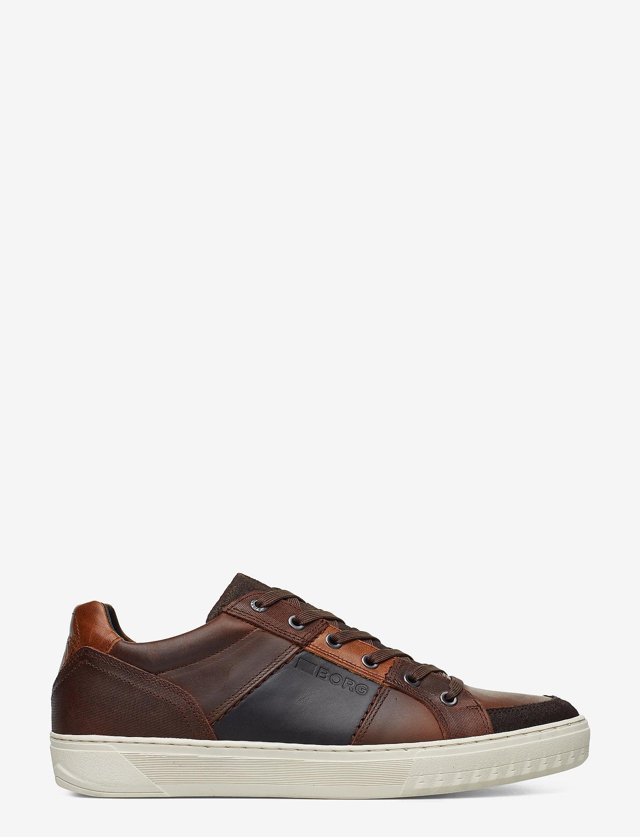 Björn Borg - COLLIN LOW DMT M - laag sneakers - dark brown - 1