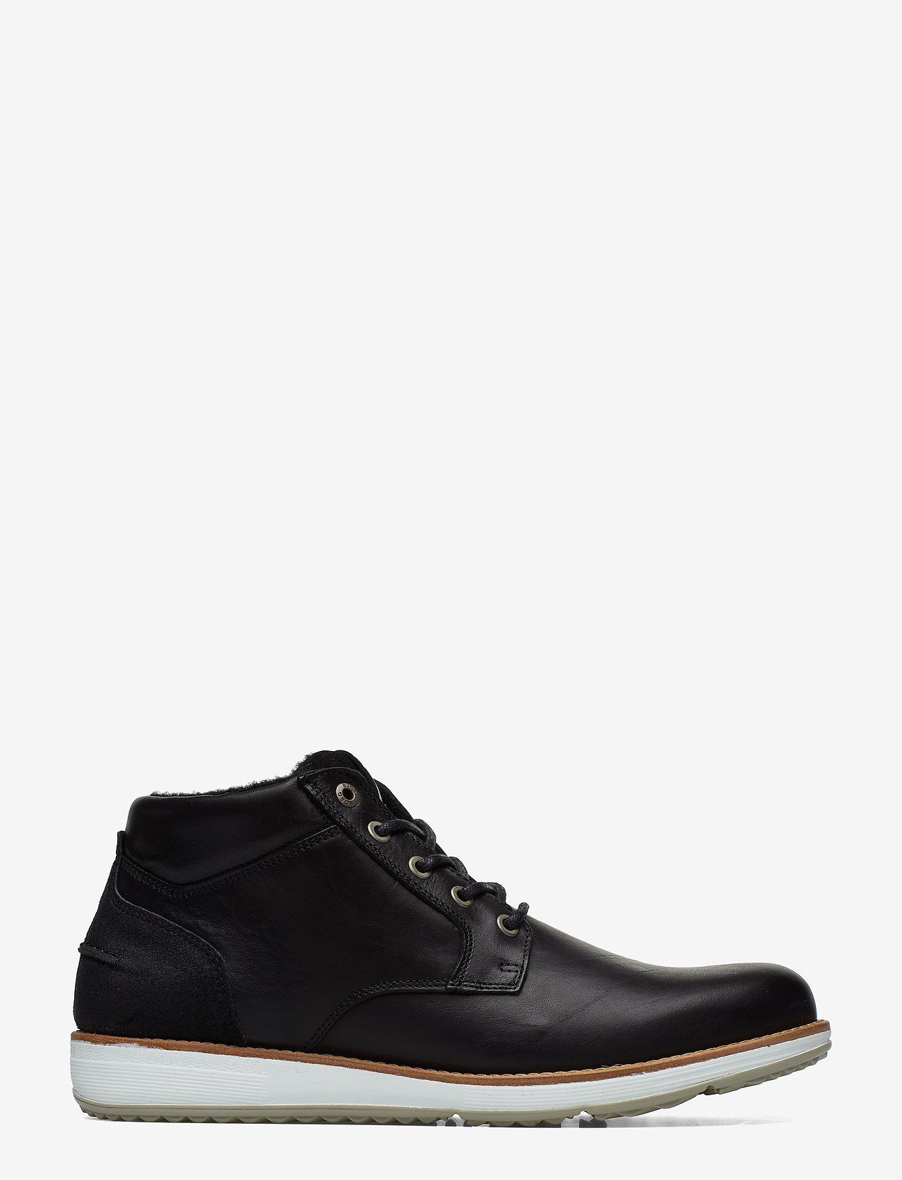 Björn Borg - SUNDAL MID M - laced boots - black - 1
