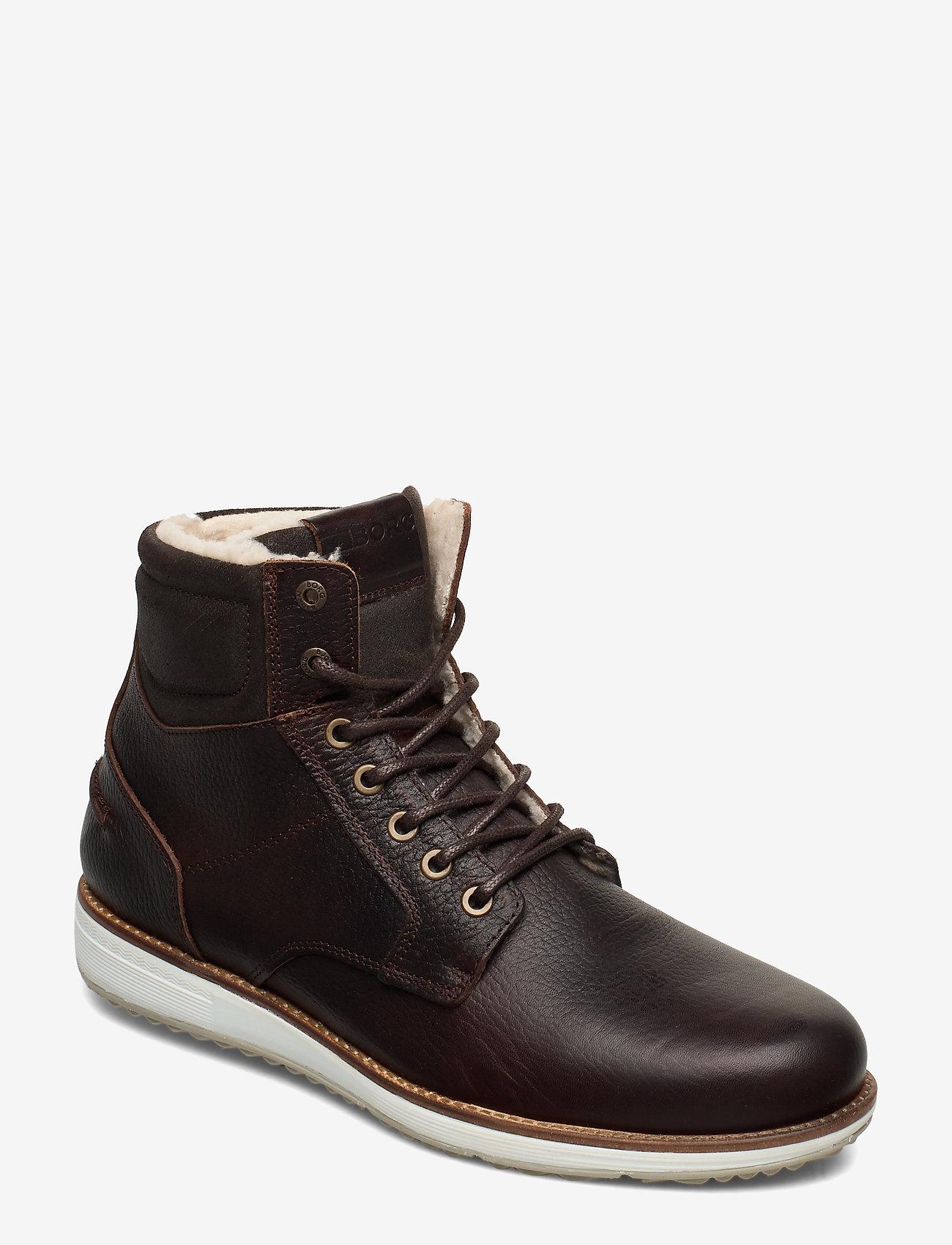 Björn Borg - SUNDAL HGH TMB M - winter boots - dark brown - 0