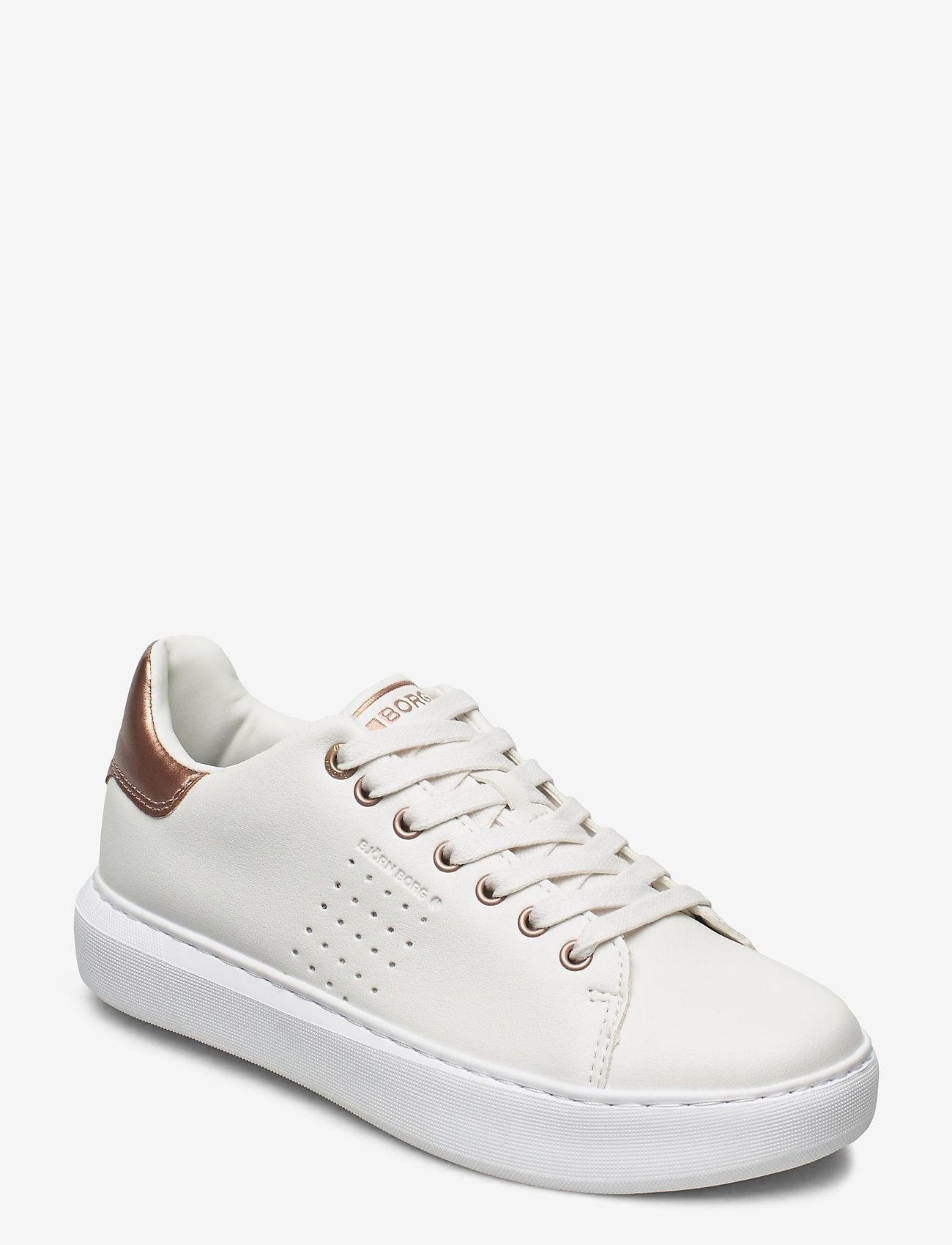 Björn Borg - T1500 LOW CLS W - low top sneakers - white-rose gold - 0