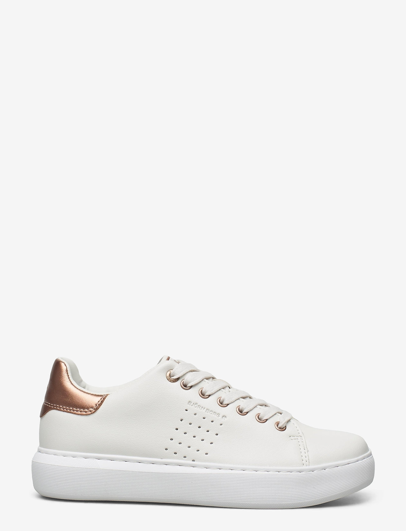 Björn Borg - T1500 LOW CLS W - low top sneakers - white-rose gold - 1