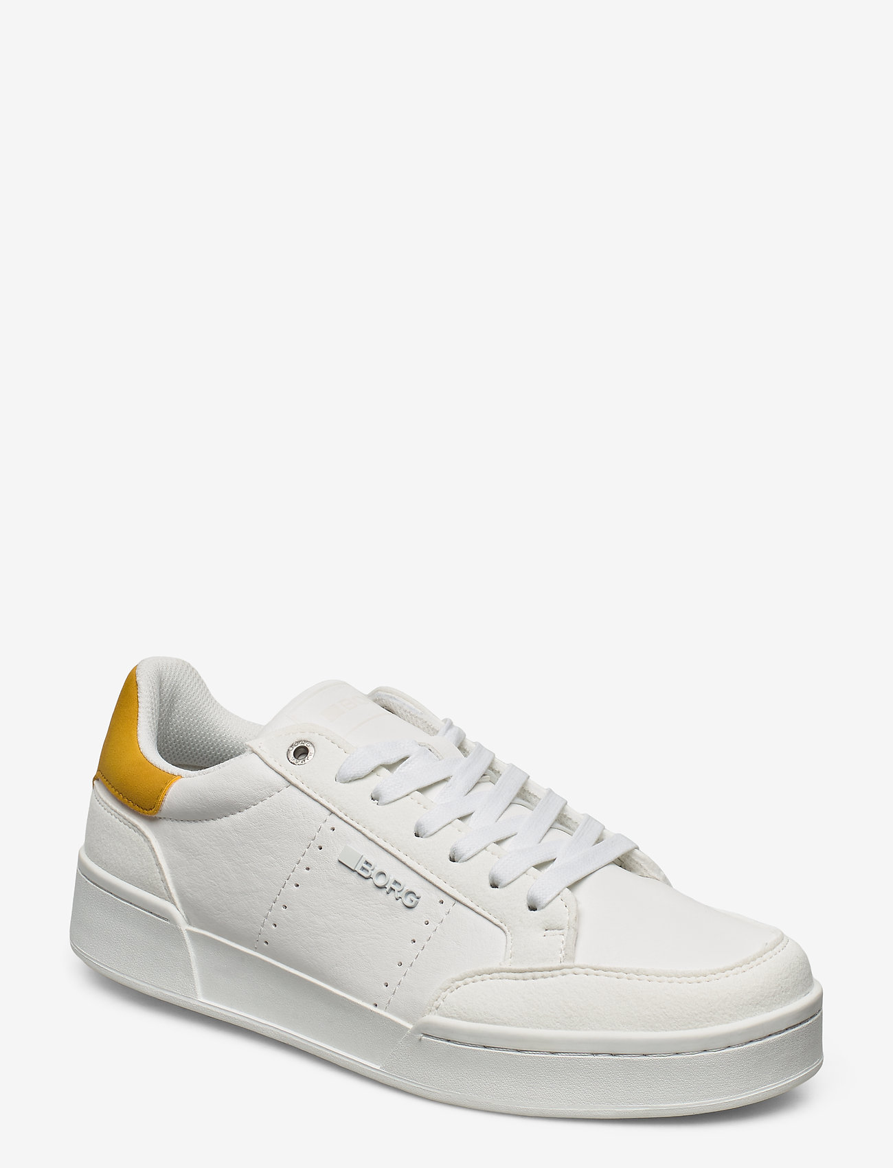 Björn Borg - T1316 SPT M - laag sneakers - white-yellow - 0