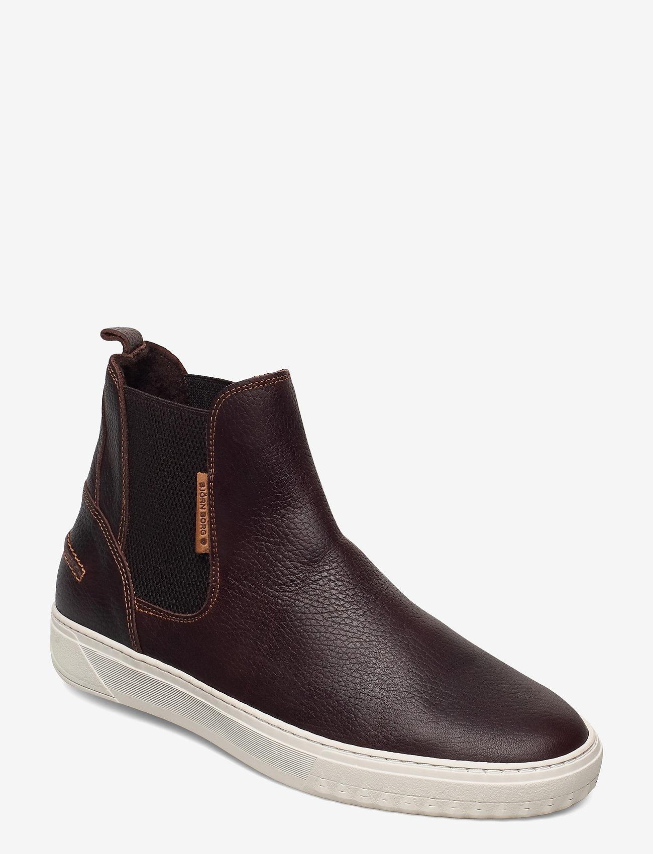 Björn Borg - COLLIN CHS M - chelsea boots - dark brown - 0