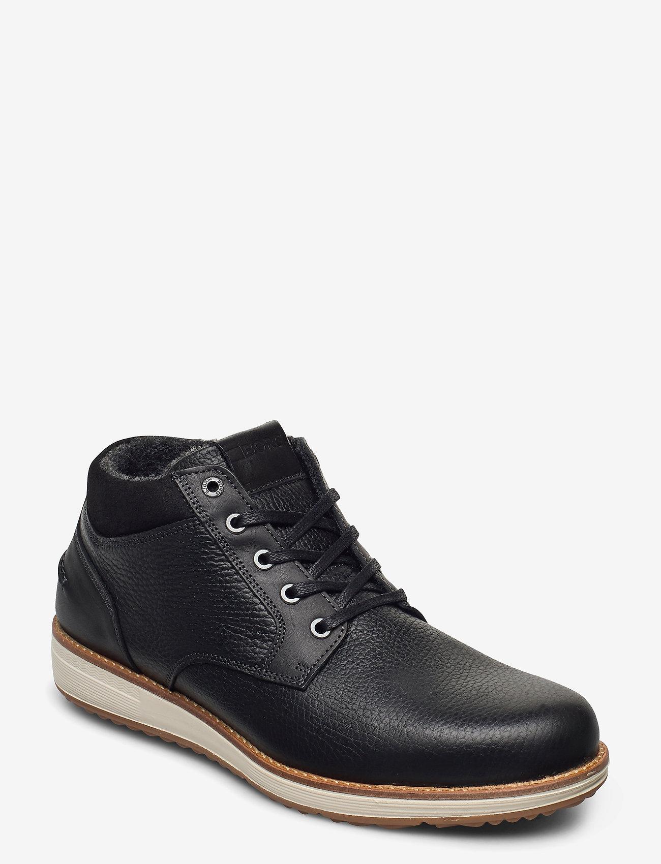 Björn Borg - SUNDAL MID TMB M - laced boots - black - 0