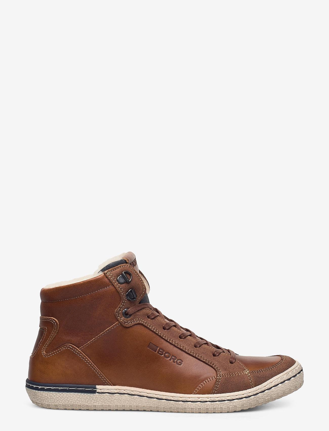 Björn Borg - ALAN MID FUR M - winter boots - tan - 1
