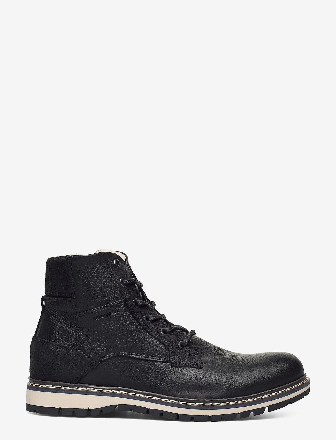 Björn Borg - BOAZ HGH FUR M - winter boots - black - 1