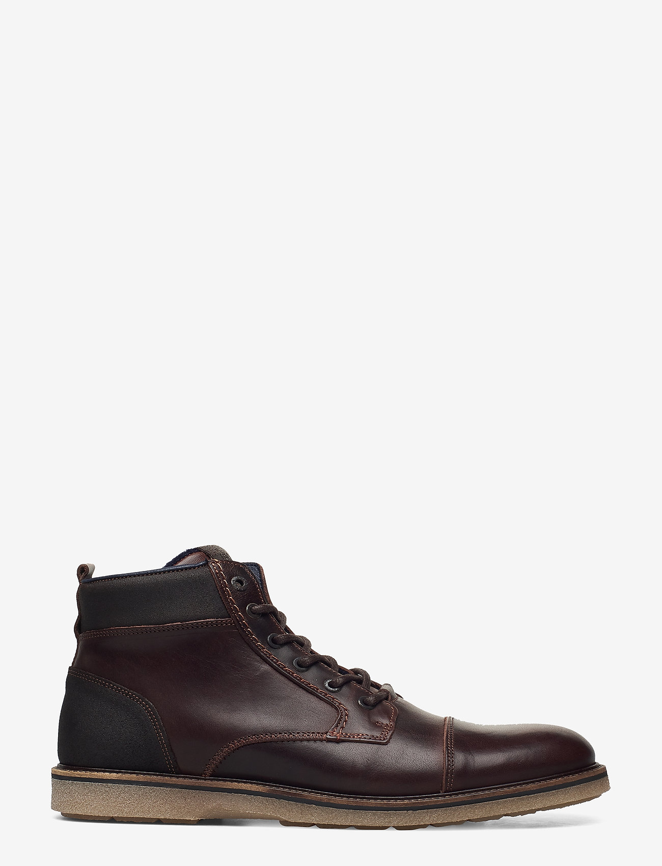 Björn Borg - BARLOW HGH M - laced boots - dark brown - 1