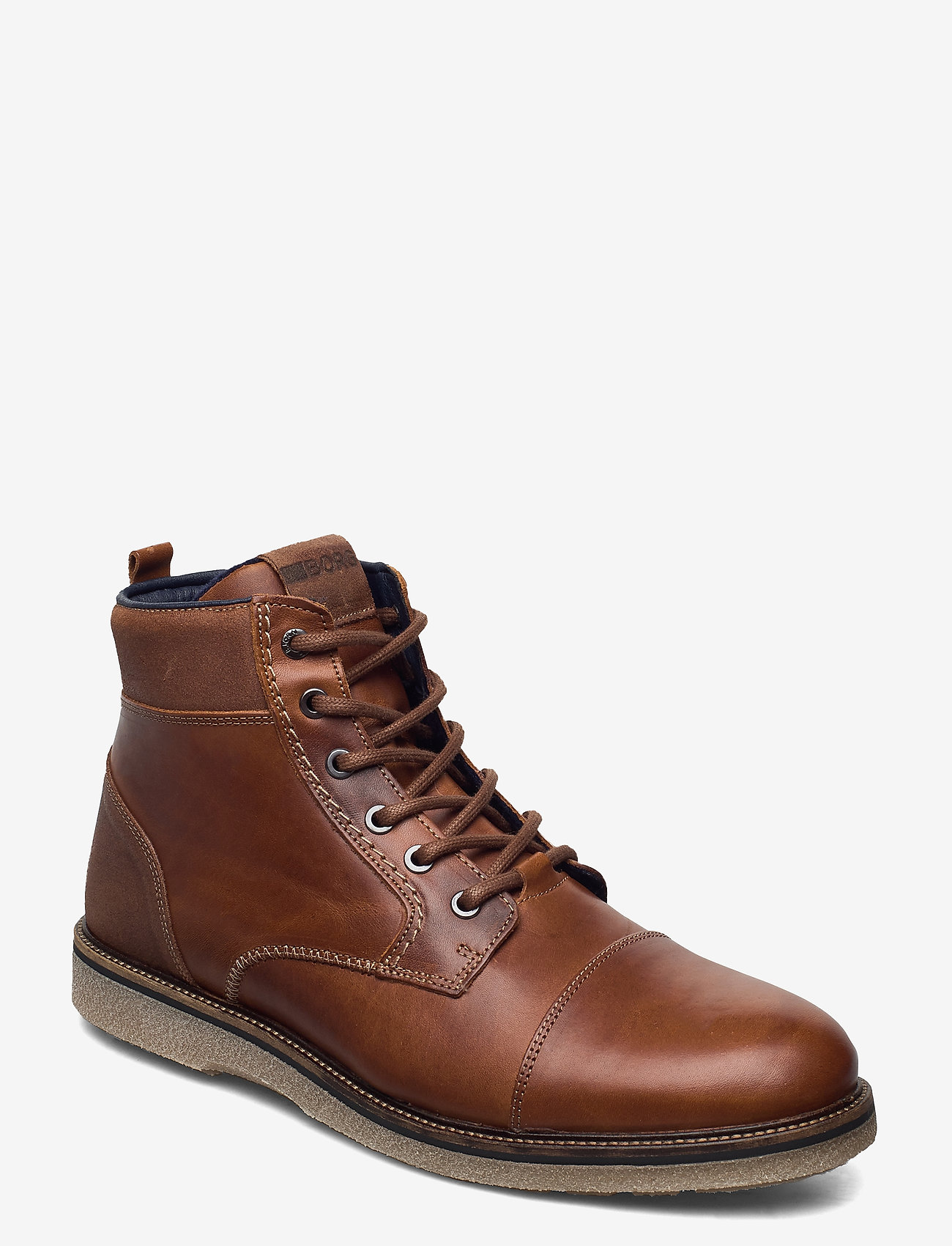 Björn Borg - BARLOW HGH M - laced boots - tan - 0