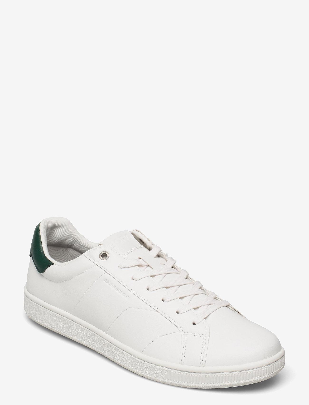 Björn Borg - T305 CLS BTM M - laag sneakers - white/green - 0