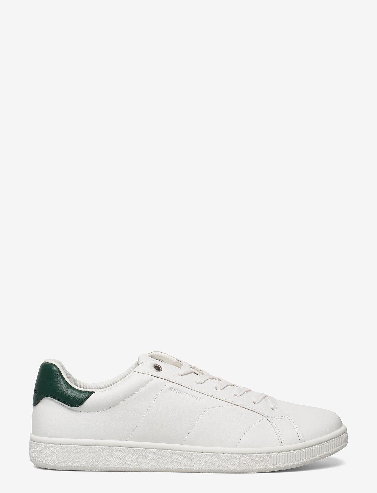 Björn Borg - T305 CLS BTM M - laag sneakers - white/green - 1