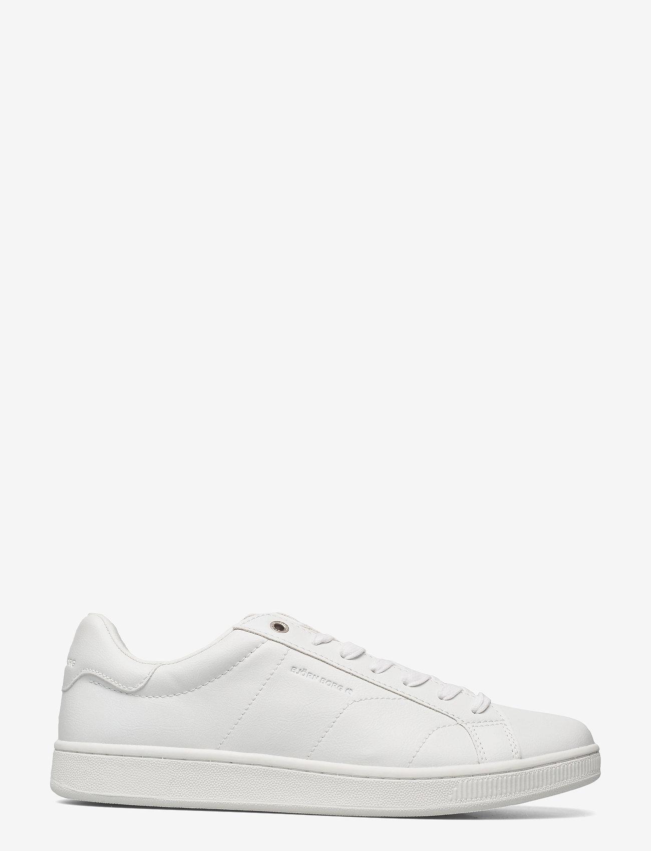 Björn Borg - T305 CLS BTM M - laag sneakers - white/white - 1