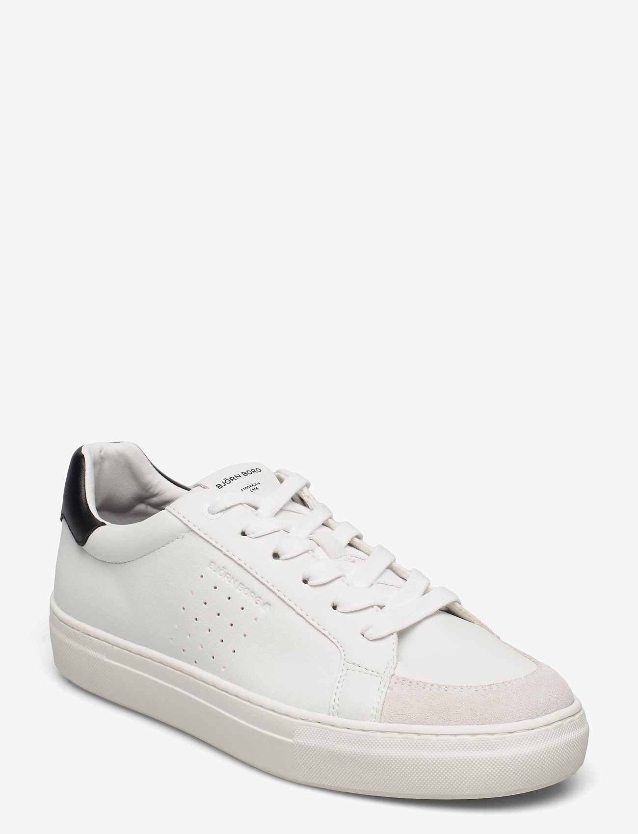Björn Borg - T1600 BSC M - laag sneakers - white-black - 0
