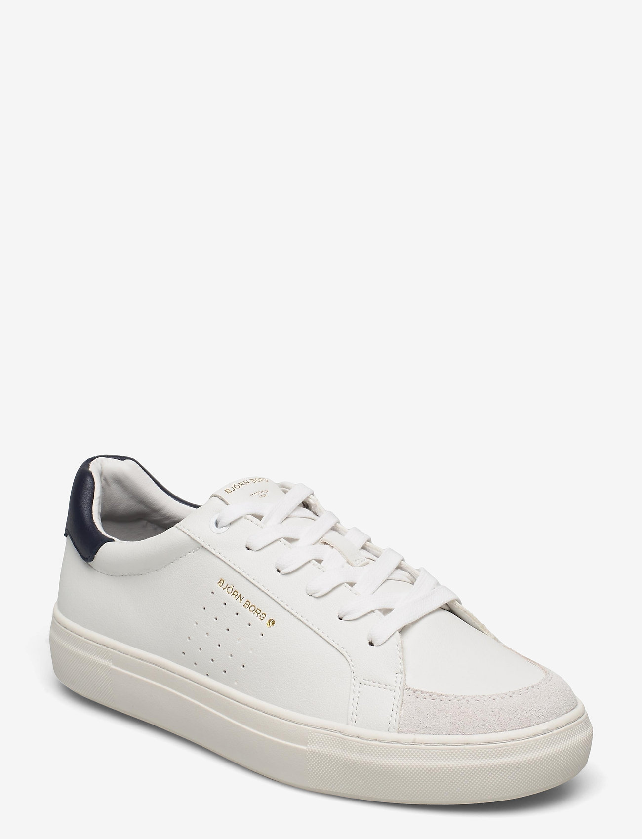 Björn Borg - T1600 CLS M - laag sneakers - white-navy - 0