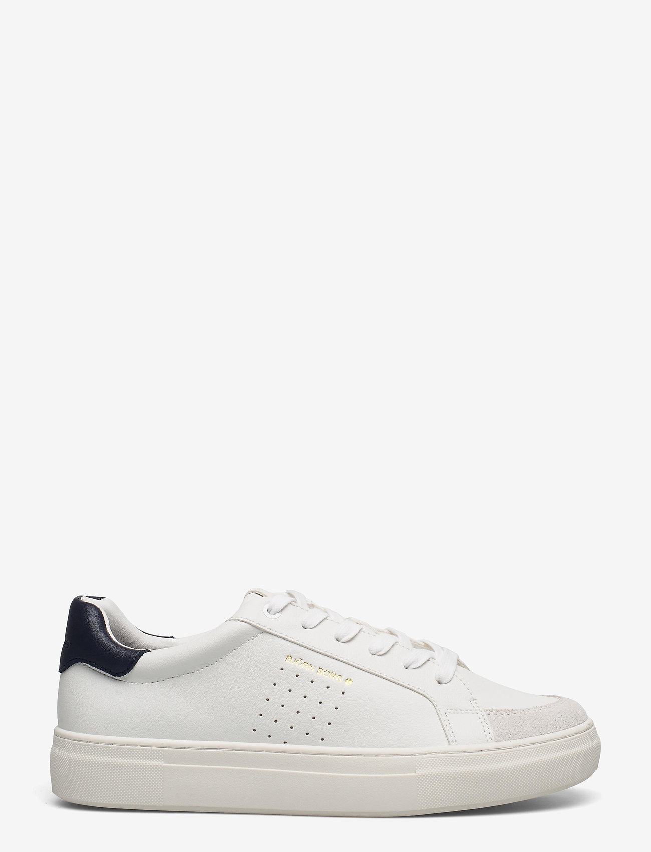 Björn Borg - T1600 CLS M - laag sneakers - white-navy - 1